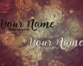 Custom Photography Logo/Watermark Design ~ Michelle