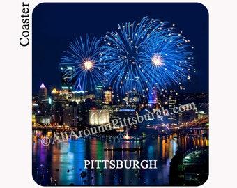2017 Pittsburgh Fireworks Coaster - Pittsburgh Coaster