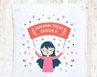 Tote Bag personalized wedding canvas bag, Tote, bag bridesmaid tote bag, tote bag, bachelorette party, shopping bag, Mum too great