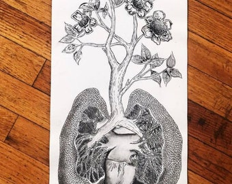 Lungs & Tree