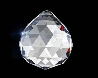 Set of 5-30mm Asfour Crystal Prism Ball Sun Catchers
