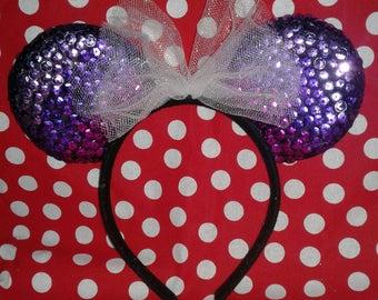 Purple Ombre Minnie Ears