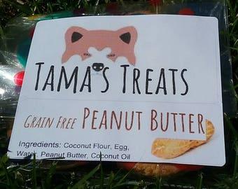 Grain Free Peanut Butter Treats
