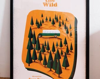 Into the wild x movie poster