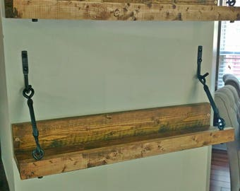 Turnbuckle shelf