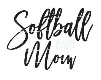 Softball Mom svg, softball svg file, softball svg, softball mom shirt design, softball shirt svg, softball sister svg, custom svg for shirts