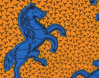 African Print/ Ankara/ 6 Yards/ Yellow and Blue