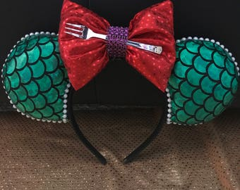 Mermaid Print Headband
