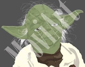 Yoda by MoviArt