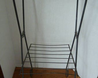 Vintage MCM Wire Table-Record Stand