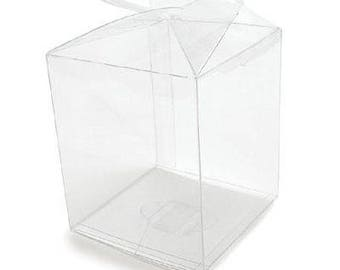 Clear Candy Apple Box Container (12)