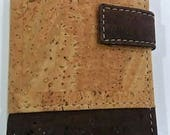 Natural Cork Wallet - Cork Card Holder - Eco-friendly Wallet