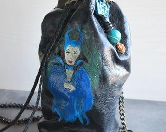 Women's bag, leather backpack, shoulder bag, handmade bag