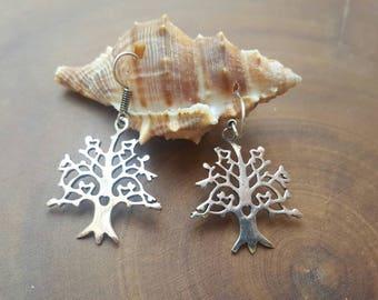 Love tree earings