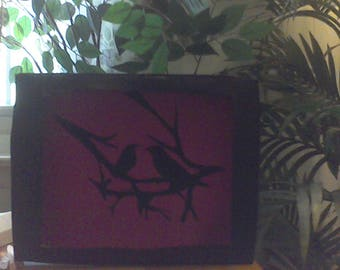 silhouette shadowboxes