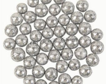 10gr of Mini glitter balls (many colors available)