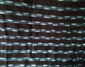 T 007 - woven cloth Indigo - Senegal