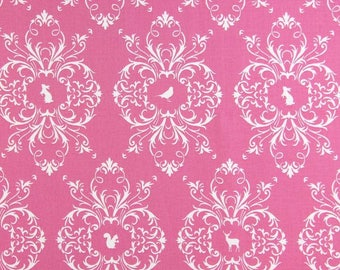 FABRIC, Country, Chic, animals, country decor, quilt, a pink ring
