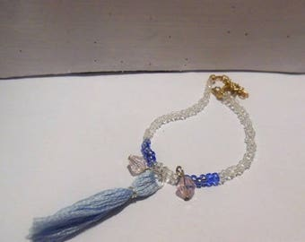 Bracelet beads top and tassel