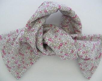 Fleece scarf LIBERTY Eloise pink 6/12/18 months 2/3 years