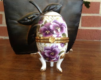 Formalities by Baum Bros Decorative Porcelain Egg