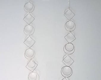 Pretty necklace and bracelet