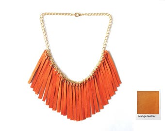 Jellah Fransen chain - hippie necklace