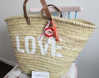 Bag, Tote, beach basket or market basket