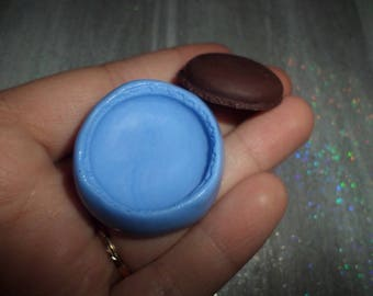 New! Mold for making your macarons in polymer clay 3cm