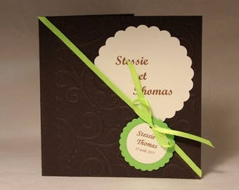 share marriage - chocolate and lime - modern wedding - share romantic