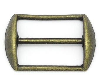 2 bronze 6x18mm belt loops: sea 0173
