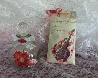 free shipping! scented sachet shabby music
