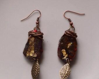 """Earrings boho Chic earrings, ethnic earrings, """"Doskilya"""", gift idea"""