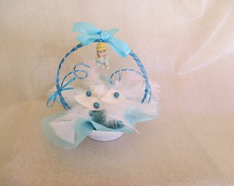 centerpiece christening or baby (boy version)