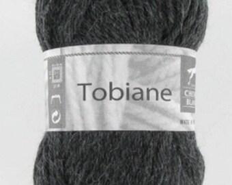 TOBIANE No. 30 white horse grey Alpaca yarn