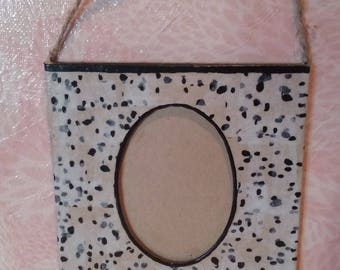 """Dalmatian"" Photo Frame"