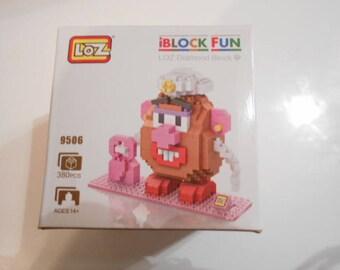 mini puzzle brick 3 D 380 pieces