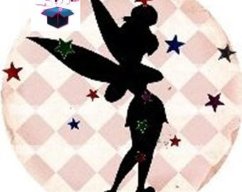 1 cabochon clear 18 mm theme fairy Elf