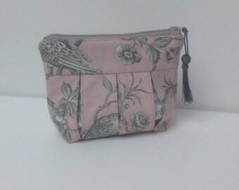 Bag, clutch bag in TOILE de JOUY