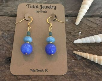 Blue Trifecta Dangles