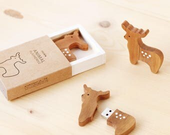 usb thumb drive deer