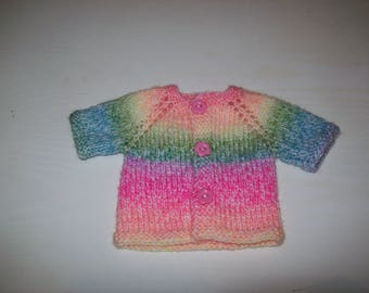 clothes for dolls from 50 cm, vest, made hand fits kidz'n ' cats don't