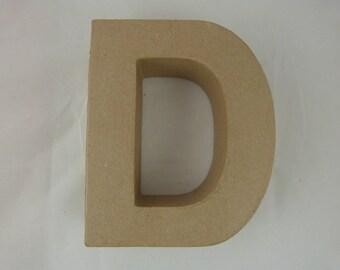"""Letter 3D decoration for home decor """"D"""""""