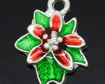 1 Christmas within 15 days flower charm