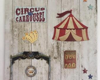 Circus - Deco table children's room