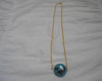 Lovely buttlerfly sideways pendant