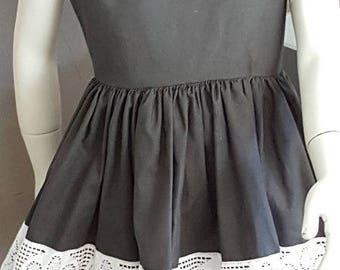 Girl cotton dress. HAND MADE