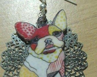 unique model dog Stud Earrings