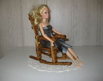decorative clothespins rocking chair