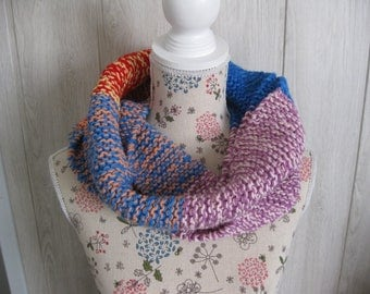 snood scarf neck wool